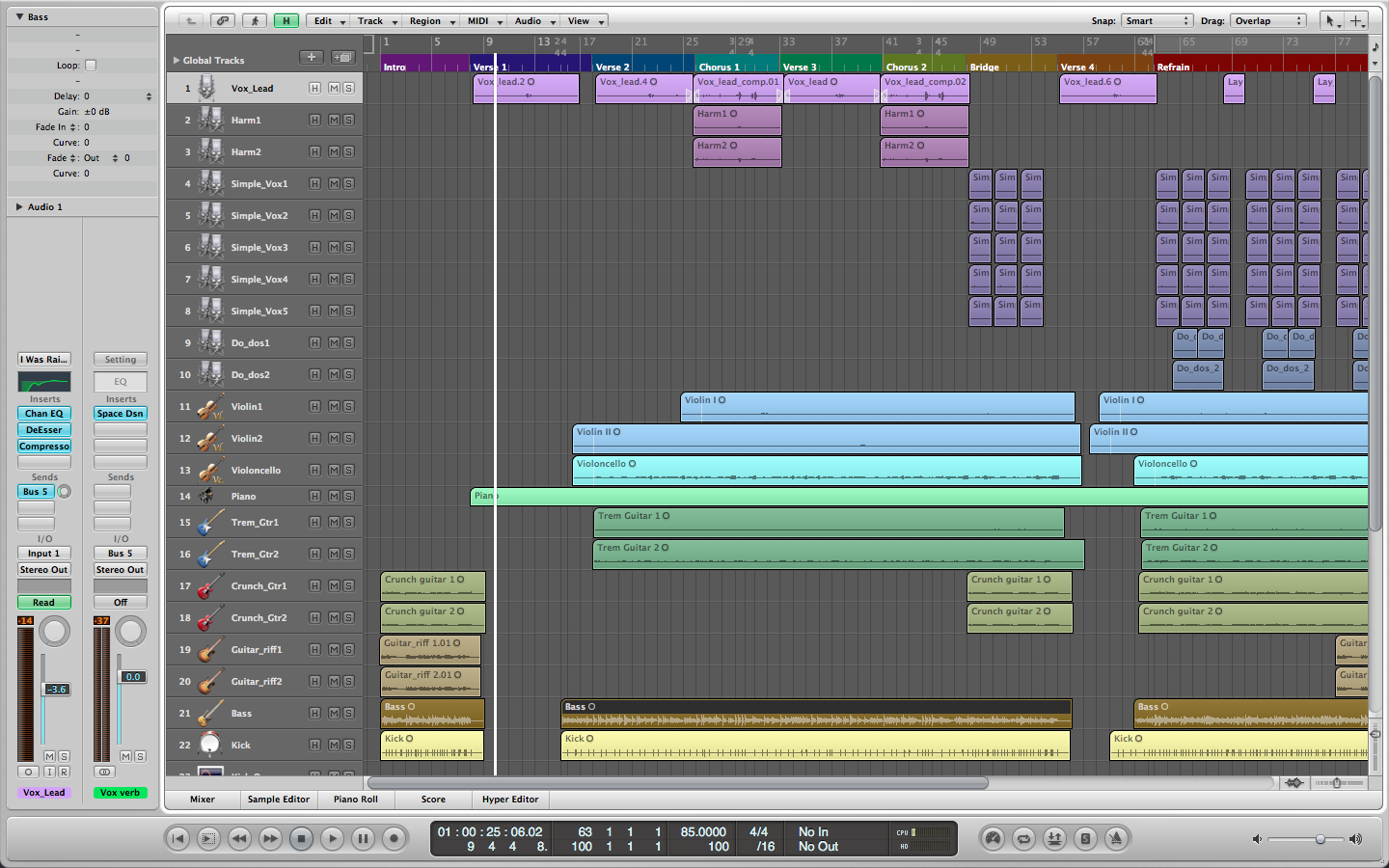 LOGIC PRO AT THE HEART